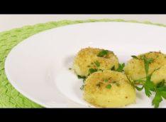 Картофельные галушки — Кулинарные видео рецепты