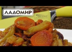 Кабачковая икра — Кулинарные видео рецепты