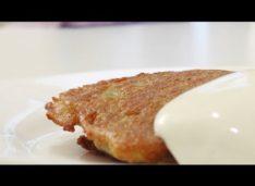 Картофельные блины с мясом (Колдуны) — Кулинарные видео рецепты