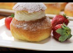 Скандинавские сладкие булочки «Семлы»