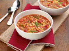 Простой и быстрый суп минестроне